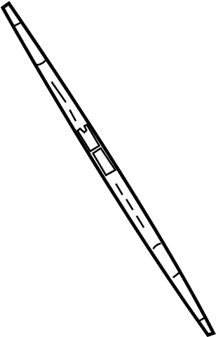 Nissan Sentra Windshield Wiper Blade Refill. System ...