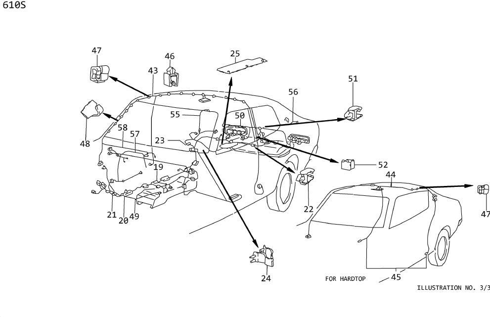 Datsun 280Z Clip. Modulation, thermal - 18762-H7900 ...