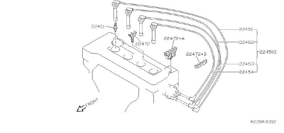 Nissan Sentra Spark Plug Wire  System