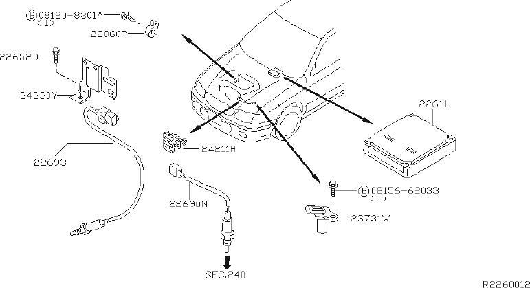 Nissan Sentra Engine Control Module
