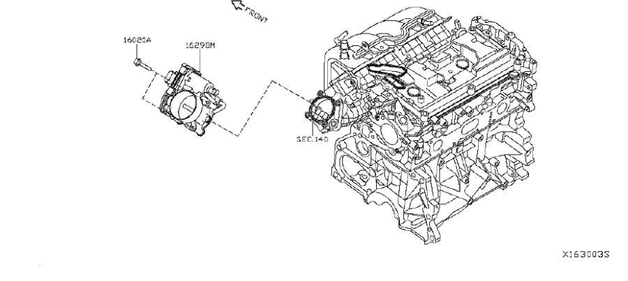 nissan sentra chamber throttle