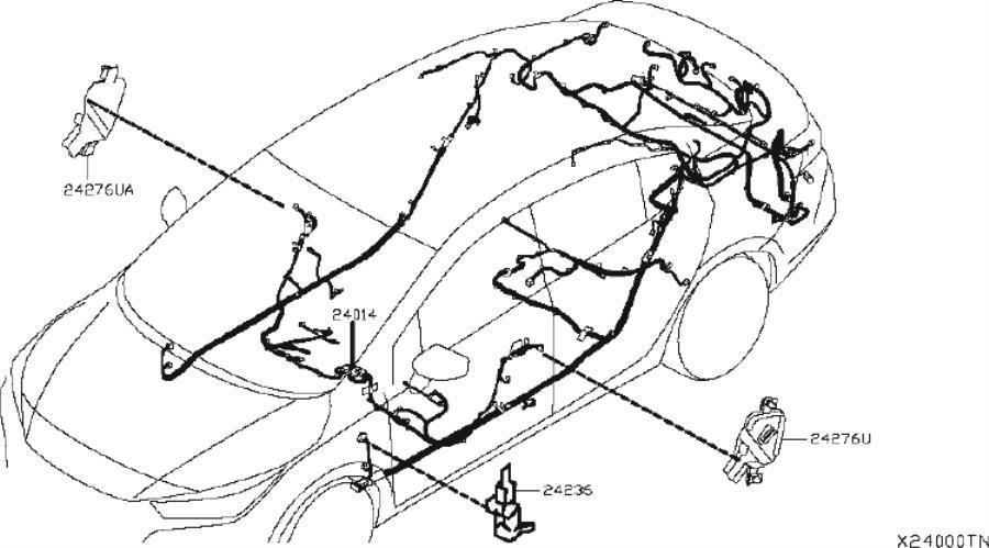 Nissan Juke Protector Harness  Body