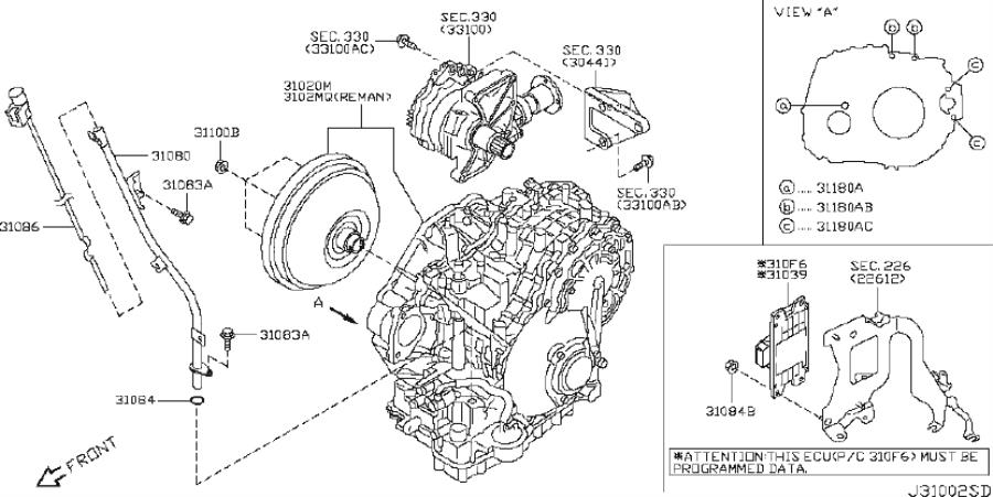Nissan Altima Remanufactured Transmission Autom  Awd