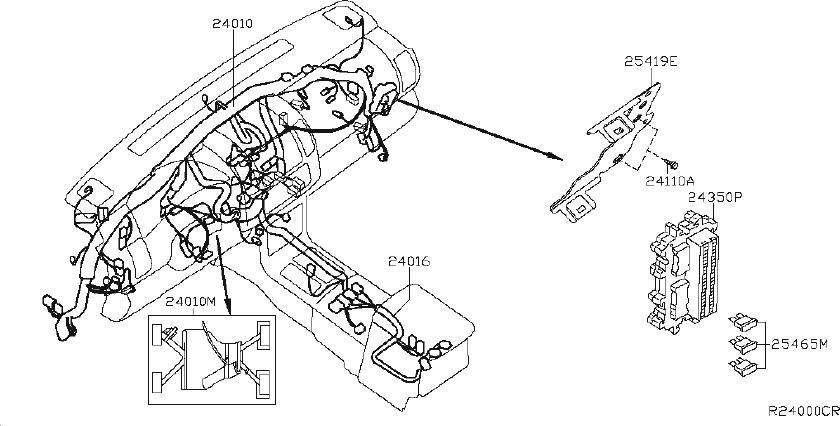 Nissan Frontier Engine Wiring Harness  Other