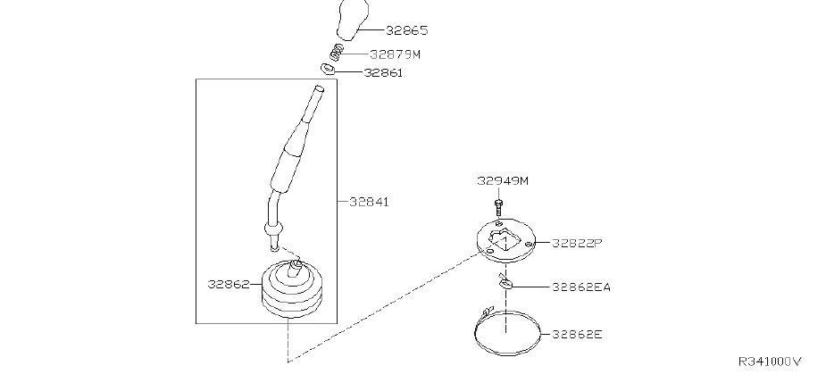 Nissan Xterra Lever Control  Transmission  Linkage