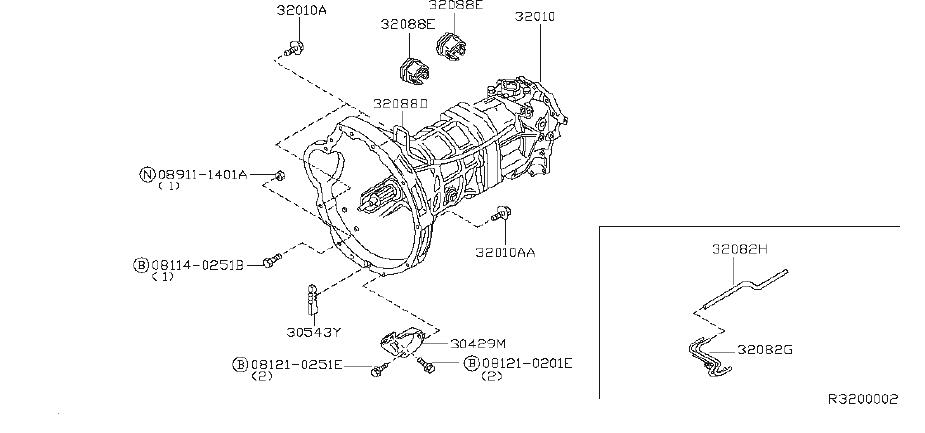 Nissan Xterra Hose Breather  Tube Breather  Fitting