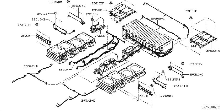 Nissan Leaf Engine Oil Drain Plug